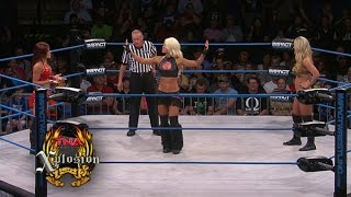 Xplosion Match: Taryn Terrell vs Madison Rayne vs Angelina Love