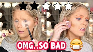 TESTING LOW RATED SEPHORA MAKEUP