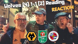 PERFECT PENS 🏆 Wolves  1-1 Reading (4-2 on pens) REACTION Carabao Cup