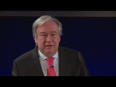 António Guterres (UN Secretary-General): An Agenda for Disarmament - Securing our Common Future