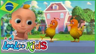 Dois Passarinhos - Música Infantil Para Crianças - LooLoo Kids Português