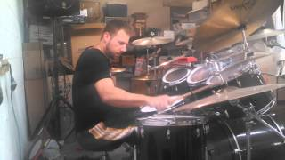 Tech N9ne-Straight out the Gate(drum cover)CoreyD