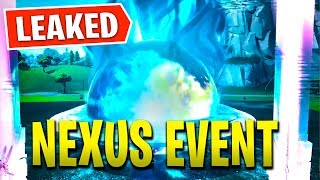 *NEW* NEXUS EVENT LEAKED in Fortnite! - Tilted & Retail Destroyed (Season 8 Nexus Event)