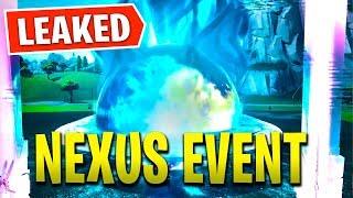 'NOUVEAU' NEXUS EVENT LEAKED à Fortnite! - Tilted - Retail Destroyed (Saison 8 Nexus Event)