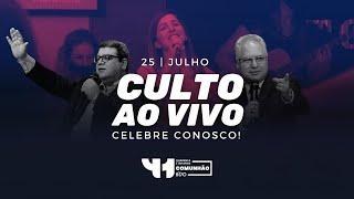 Culto AO VIVO - Domingo 25/07/2021 - IPVO Maringá