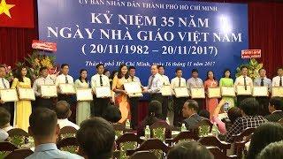 TP Hồ Chí Minh: Nhiều hoạt động tri ân các thầy cô giáo nhân kỷ niệm 35 năm Ngày Nhà giáo Việt Nam