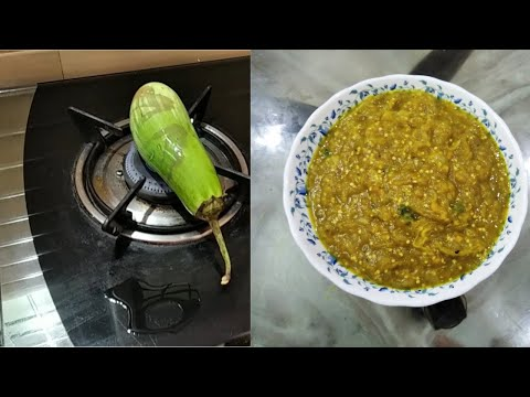 how-to-make-brinjal-chutney-at-home-|how-to-make-brinjal-chutney-at-home-andhra-style