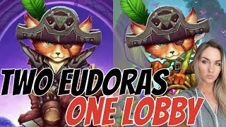 DOUBLE EUDORA LOBBY- Who will prevail?! - Hearthstone Battlegrounds