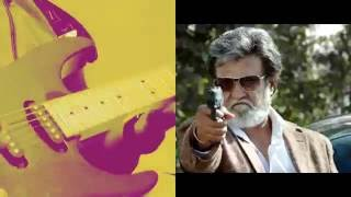 Kabali Teaser theme music | Guitar cover | Rajinikanth tribute | Ashwin Asokan | Santhosh Narayanan