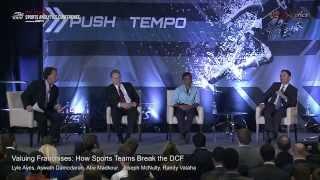 SSAC15: Valuing Franchises: How Sports Teams Break the DCF
