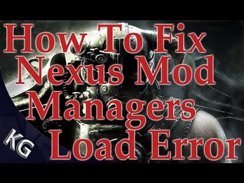 Nexus Mod Manager Error: Unable to Write Permissions FIX! EASY!