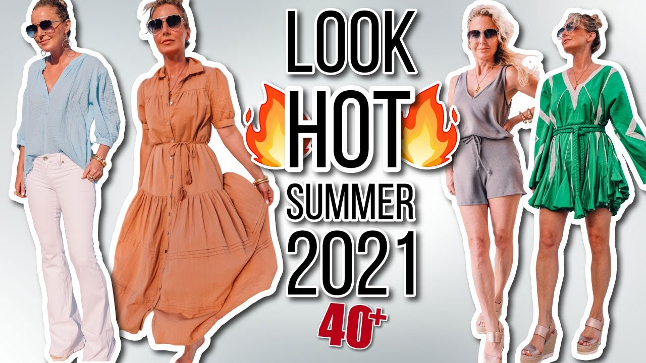 HOT Summer Trends 2021 (Outfits I Wore On My Recent Beach Trip (Summer and Beach 2021 Lookbook)