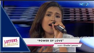 GIEDIE LAROCO - POWER OF LOVE (NET25 LETTERS AND MUSIC)