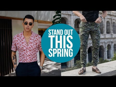 How to Dress Bolder: Spring / Summer Style Lookbook    Men's Fashion 2018    Gent's Lounge