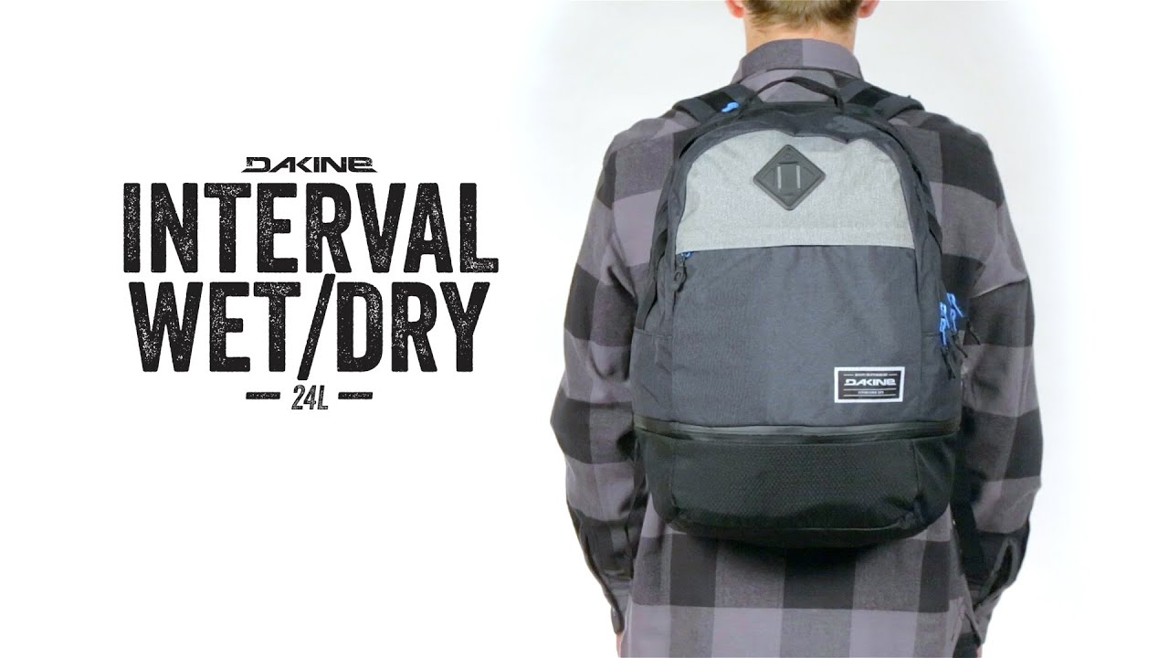 Dakine Interval Wet / Dry Backpack - YouTube
