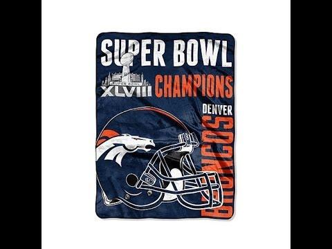 Super Bowl XLVIII Champions 60 x 80 Throw