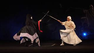 中村獅童復帰 「超歌舞伎」立ち回り ニコニコ超会議2018より 中村獅童 動画 16