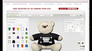 Personalised Teddy Bears - Design a Personalised Teddy Bear Online!