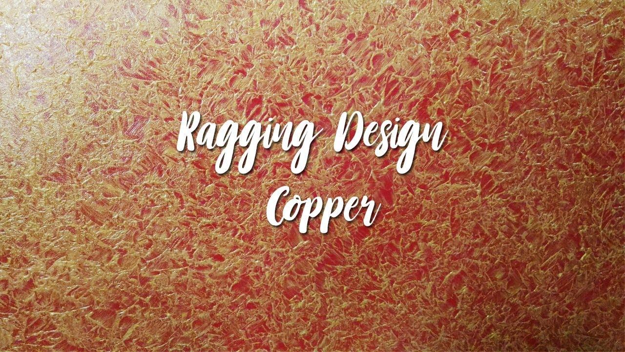 Asian Paints Royale Play Metallics Ragging Wall Design ...