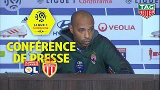 Conférence de presse Olympique Lyonnais - AS Monaco ( 3-0 ) / 2018-19
