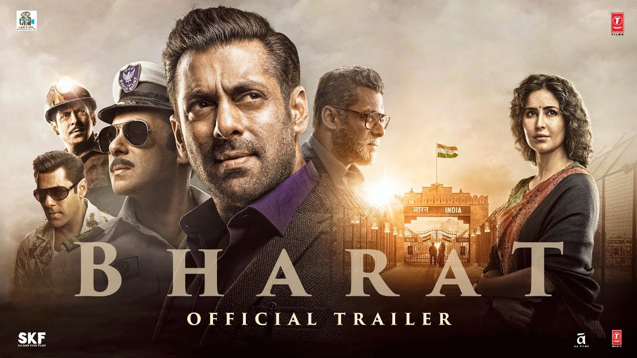 BHARAT | Official Trailer | Salman Khan | Katrina Kaif | Movie Releasing On 5 June 2019