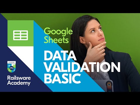How To Create A Drop Down List In Google Sheets - Data Validation Function