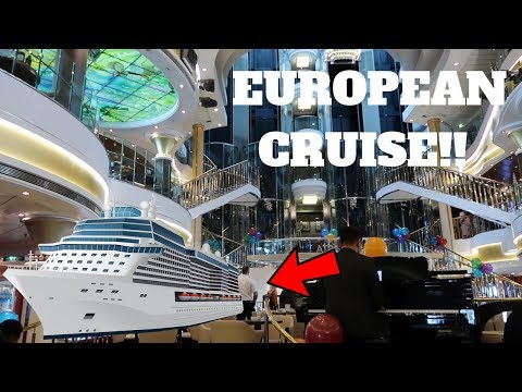 EXPLORING THE NORWEGIAN STAR CRUISE SHIP!!