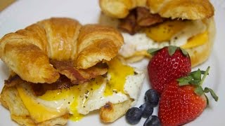Bacon Egg And Cheese Croissant - Cooked By Julie Episode 209