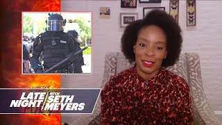 Amber's Minute of Fury: Police Violence Against Peaceful Protestors