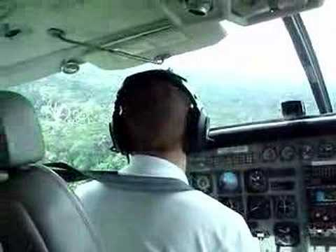 landing in pelelu tepu (Suriname)