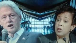Bill Clinton & Loretta Lynch Private Meeting on Phoenix Tarmac, Bribes for Hillary !