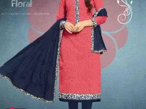 Buy wholesale Rangoon vol 3 Dress material catalog
