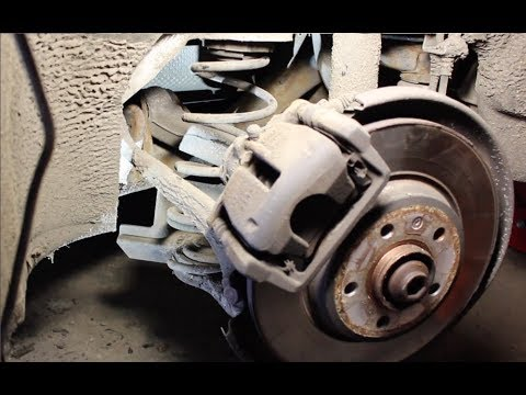 How to Replace the Rear Coil Spring on Audi A4 B8