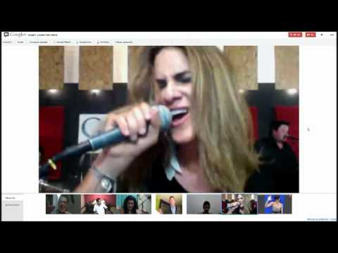 Naty Botero-Mio Acustico (En Vivo Hangout Google+)