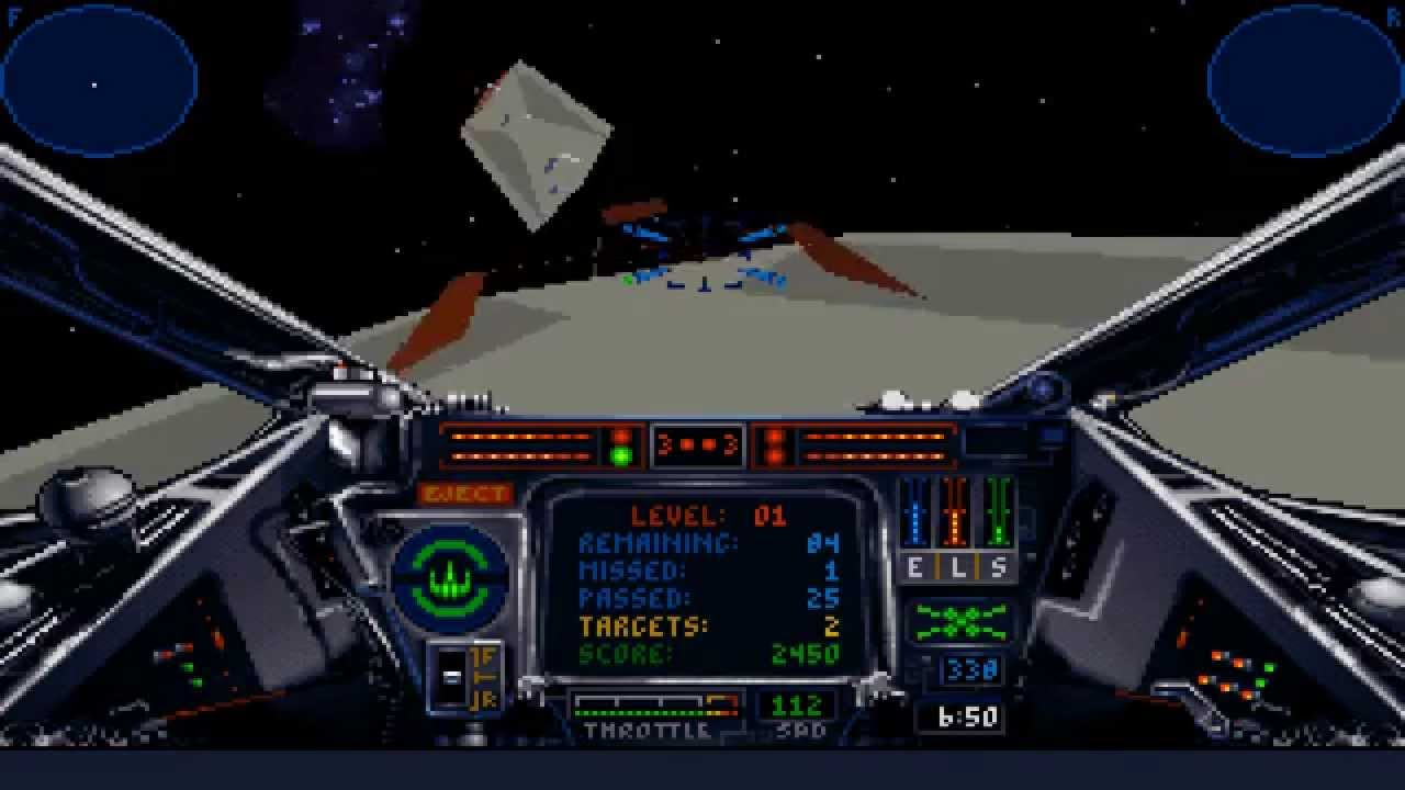 Star Wars X Wing Pc Dos 1993 Lucasarts Youtube