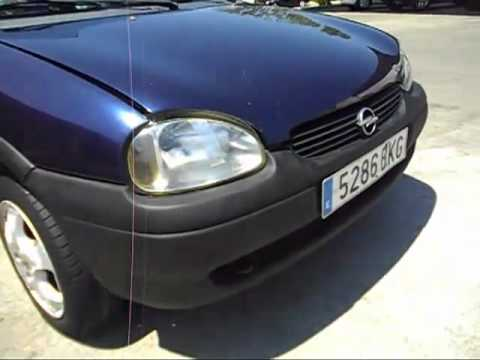 opel corsa 1 7 diesel a o2002 150000kms 1500 youtube. Black Bedroom Furniture Sets. Home Design Ideas