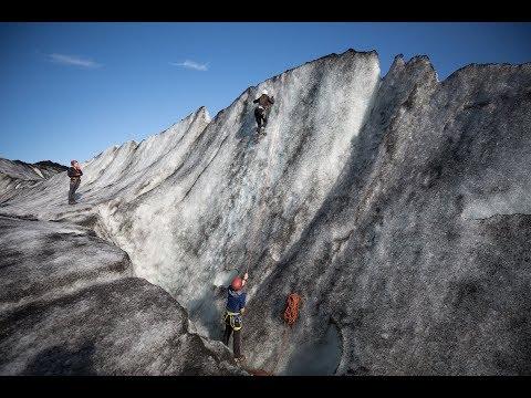 Over The Black Glacier: Trekking The Sólheimajökull Glacier