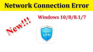 How To Fix Hotspot Shield VPN Network / Internet Connection Problem Windows 10/8/8.1/7 screenshot 2