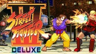 STREET FIGHTER III DELUXE 【MUGEN】 - PC LONGPLAY - KegaFusion (SFA) [NO DEATH RUN] (FULL GAMEPLAY)