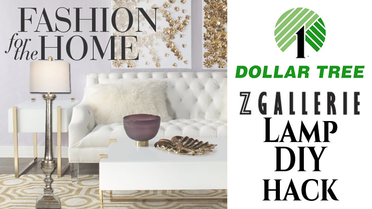Z Gallerie Inspired Diy Dollar Tree Youtube