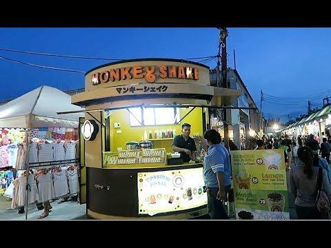 Kev In Thailand, Theppasit Road Night Market Pattaya Jomtien ! Vlog 260