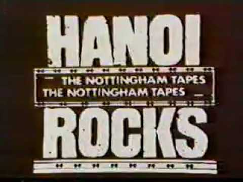 Hanoi Rocks - The Nottingham Tapes {1984}