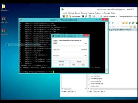 FFMPEG Auto Installation for Linux Servers only CentOS