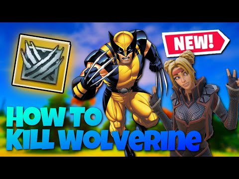 EASIEST Way To Find & Kill WOLVERINE, FAST! (Fortnite Update 14.20)