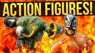 TOYS FOR PSYCHOPATHS - Cheap Action Figures | Weasel Reviews
