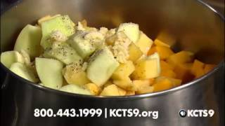 Butternut Squash Soup / Double Cheese Baking Powder Biscuits | Kcts 9 Cooks On The Side