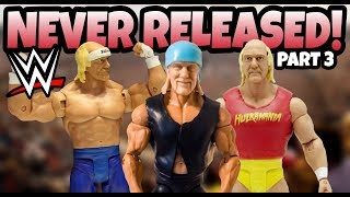 UNRELEASED WWE Action Figures From Mattel Part 3