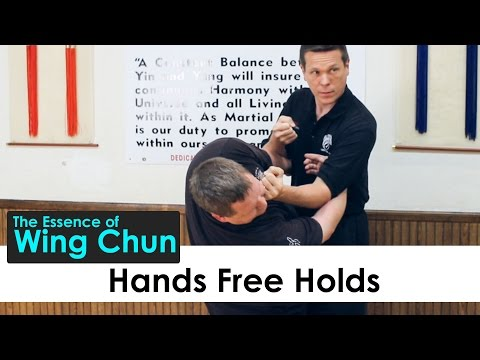 Wing Chun - Hands Free Holds - Lesson 23