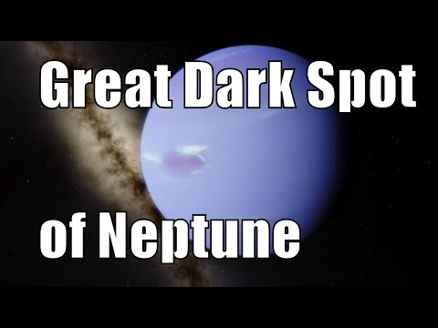 Great Dark Spot of Neptune and Other Gas Giant Superstorms - Universe Sandbox 2