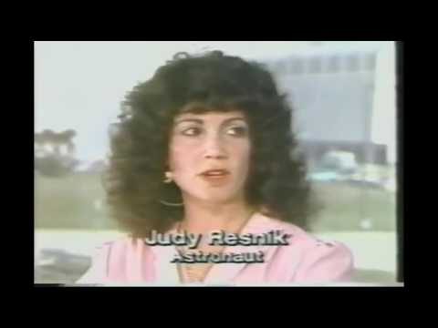 Astronaut Judy Resnik interview 9th April 1981